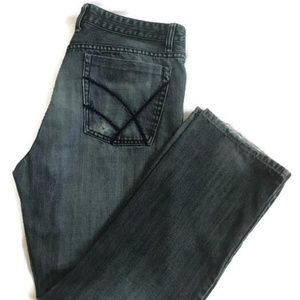 Kenneth Cole Mens Distressed Jeans 34x30 M1252